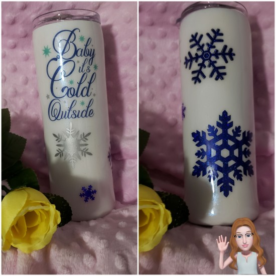 Baby its cold outside - 20 oz tumblers