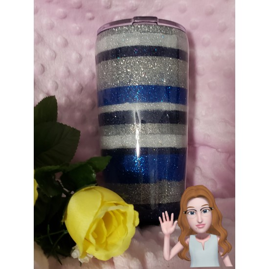 The Blues - 20 oz tumbler