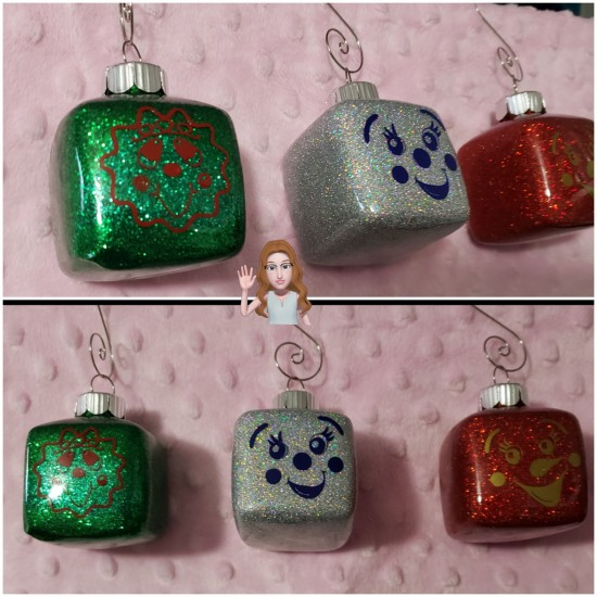 Glitter - Christmas Ornaments